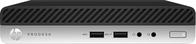 HP ProDesk 400 G5 Intel® 9de generatie Core™ i3 i3-9100 4 GB DDR4-SDRAM 128 GB SSD mini PC Zwart, Zilver Windows 10 Pro
