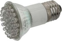 LED-Lampe JDR 50x75mm E27 230V 15° ws 37340