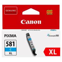 CANON Cartouche Jet d'encre 581 Cyan XL 2049C001