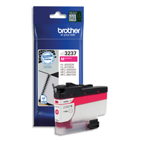 BROTHER Cartouche Jet d'encre Magenta LC3237M