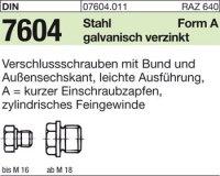 Verschlußschraube mit Bund AM18x1,5