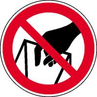 Modellbeispiel:, In die Schüttung greifen verboten, Art. 21.0928