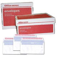 Sobre Office Depot C5 90 g/m² blanco con ventana tira adhesiva 500 unidades