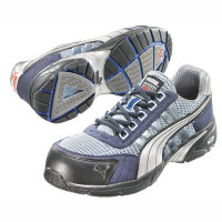 Sicherheitsschuhe PUMA Safety Shoes S1P, Halbschuh, blau-silber, Gr. 39 -48 Version: 47 - Größe 47