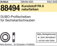 DUBO-Profilscheiben 231-M36x10