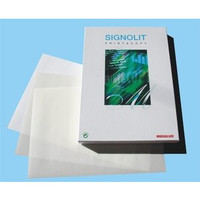 Laser-/Kopierfolie Signolit® SL, sk, A4, 0,05mm, weiß, opak