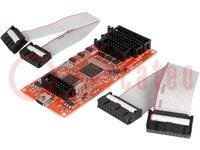 Programmatore: microcontrollori; ARM TI, DSP TI; USB; 10,5x4,6mm