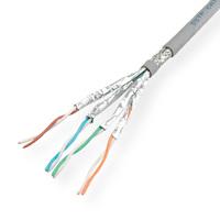 ROLINE S/FTP-(PiMF-) Kabel Kat.7 Massivdraht, AWG23, 300m
