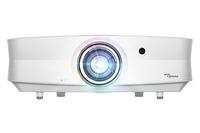 Optoma UHZ65LV beamer/projector Plafond/vloergemonteerde projector 5000 ANSI lumens DMD DCI 4K (4096x2160) 3D Wit