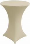 Stretch cover MARS cream 70 cm 10 elastane, 90 polyester, 210 g/m2 Table hight