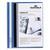 DURABLE Chemise de présentation Duraplus à lamelle A4 - personnalisable + gouttière de passage - Bleu