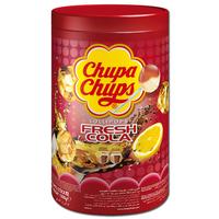 Chupa Chups Cola-Lutscher, Fresh Cola, Lolly 100 Stück
