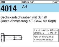 ISO4014 M14x80