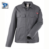 Berufbekleidung Bundjacke Baumwolle, grau, Gr. 24-29, 42-64, 90-110 Version: 24 - Größe 24