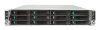 Intel R2312WTXXX computerbehuizing Rack Zwart, Zilver