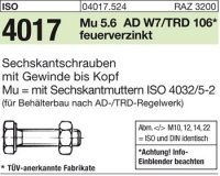 ISO4017 M20x40