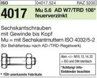 ISO4017 M20x55