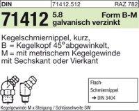 Kegelschmiernippel BM6x1SW9