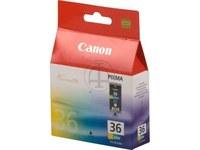 Canon 4 Farbtintentanks CLI-36 für portable Tintenstrahldrucker