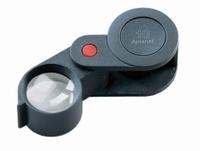 Precision folding magnifiers plastic Description Distortion-free image Lens Ø 23 mm Lens Aplanatic Magnification 10x