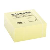 Soennecken Haftnotizwürfel 5804 75x75mm 400Blatt gelb