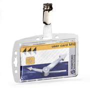 Durable 800519 identity badge/badge holder Acrylic 25 pc(s)