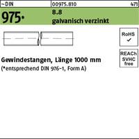 Gewindestange M12 Gal Verz.