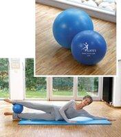 SISSEL Pilates Ball 26cm inkl.Übungsanleitung,blau