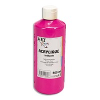 ART PLUS Acrylique brillante 500ml Rouge primaire
