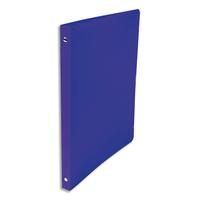 5 ETOILES Classeur à 4 anneaux de 15 mm en polypropylène 5/10e bleu