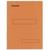 ESSELTE Boîte de 100 sous-dossiers 160g à 2 rabats orange Scor , pour dossiers armoire et tiroir