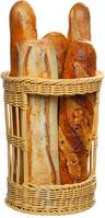 Baguettekorb, Polypropylen, Ø 30,0 cm 38,0 cm, beige