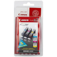 Canon Tinte CLI-521 Multipack cyan/magenta/yellow (Blister)