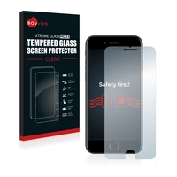 Savvies® Xtreme Glass HD33 Clear Panzerglasfolie für Apple iPhone 7
