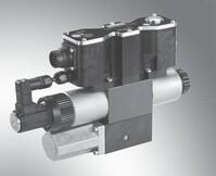 Bosch Rexroth 4WREQ10Q5-75-2X/V00-24PF62 Prop.-Directional valve