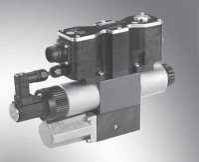 Bosch Rexroth 4WREQ10Q5-75-2X/V8F-24PA60 Prop.-Directional valve