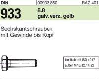 DIN933 M4x10