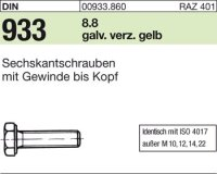 DIN933 M5x35