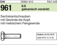 DIN961 M16x1,5x80