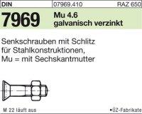 DIN7969 M24x80