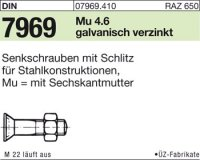 DIN7969 M12x65