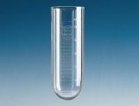 100ml Centrifuge tubes plastic round bottom PC graduated Diam. 41 mm Height 115 mm Graduations-ml