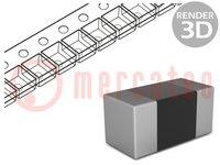 Weerstand: thin film; precisie; SMD; 0603; 33Ω; 63mW; ±0,1%