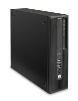 HP Z DWS BUNDEL Z240 SFF 4Core 3.5GHz CPU, NVIDIA K620, 32GB geheugen, 256GB SSD (J9C03EA+J3G87AT+2xN0H87AT) 3.5GHz E3-1245V5 Kleine vormfactor Zwart