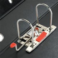Ordner maX.file protect plus A4 8cm schwarz, PP-Kunststoffbez./PP-Kunststoffbez.