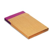 5 ETOILES Boîte de 200 pochettes kraft adour 3 soufflets auto-adhésif 120 grammes format 24