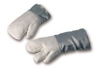 Hitzeschutzhandschuh HT-Gewebe, bis 1100°C, 3-Finger
