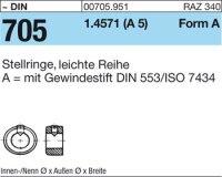 Stellringe A20x32x14