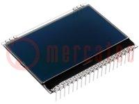 Display: LCD; grafisch; FSTN Negative; 128x64; zwart; 67,8x47,96mm