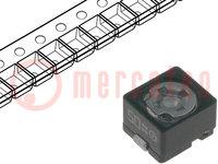 Trimmer: keramisch; 7pF÷50pF; SMD; zwart; 50VDC